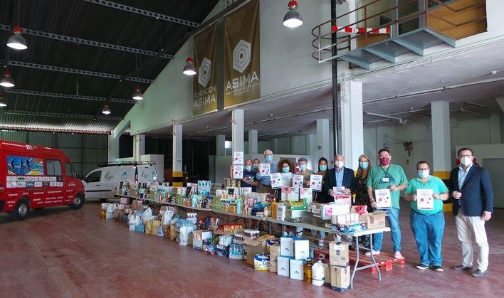 Fundación ASIMA entrega tres toneladas de productos de primera necesidad a entidades sociales de Mallorca