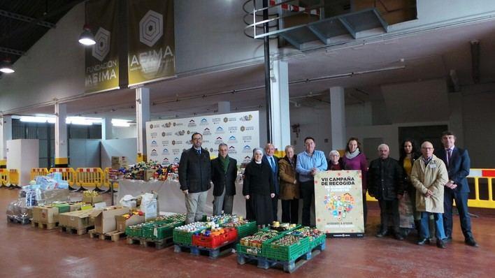 Asima dona más de 8 toneladas de alimentos a ONG's de Mallorca
