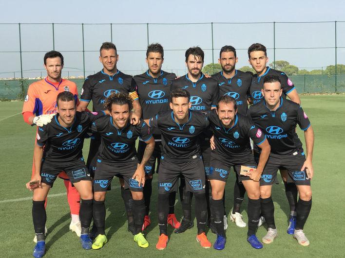El Atlético Baleares cierra la pretemporada con una clara derrota ante el Shabab Alahil de Dubái
