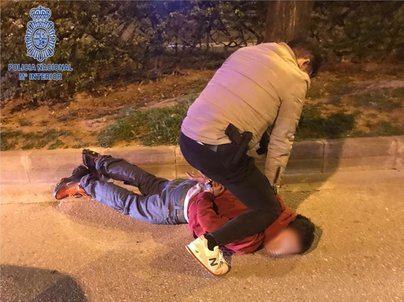 Detenido tras atracar a un hombre con un cuchillo en la calle Manacor