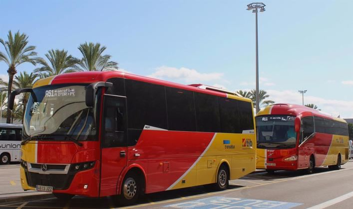 El autobús interurbano Aerotib incrementa sus servicios a los municipios