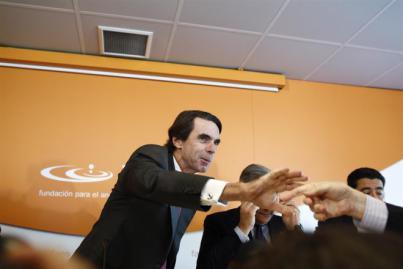 El hijo de Aznar da el