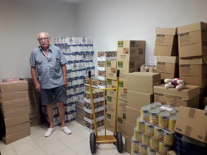 La falta de ayudas económicas y de personal abocan al cierre del Banco de Alimentos de El Molinar