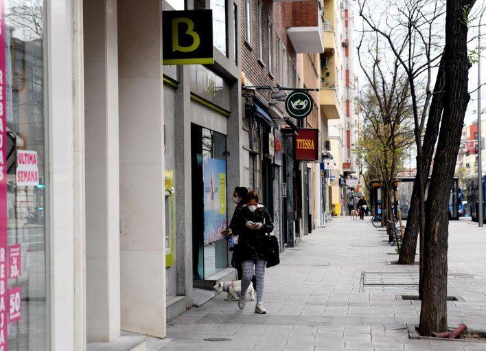 Las entidades bancarias vuelven a reabrir su red de oficinas