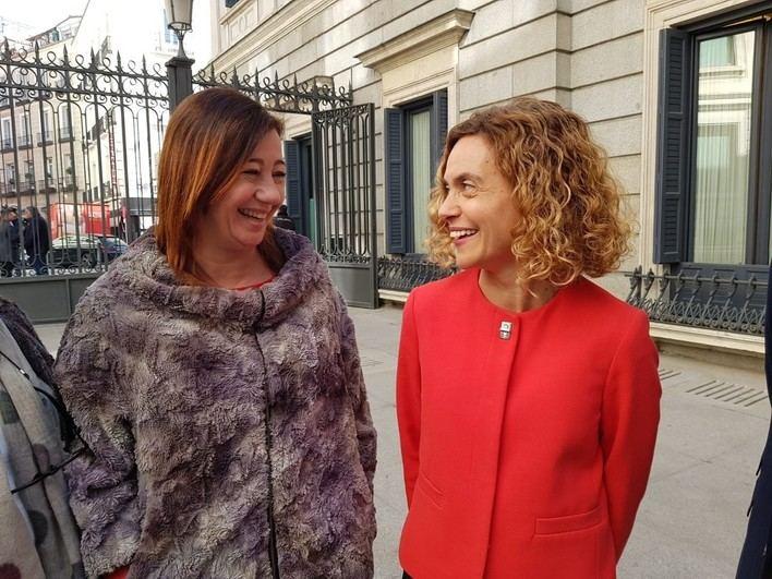 Meritxell Batet destaca que en Baleares 'la victoria del PSOE se tiene que repetir'