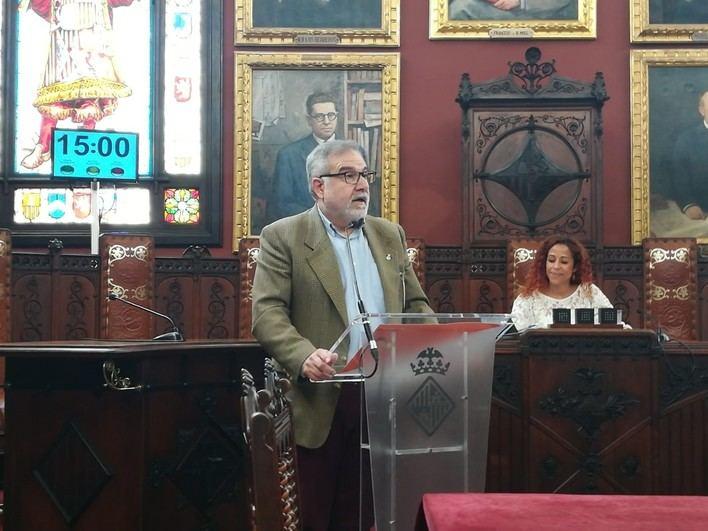 Bauzá: 'La legislatura ha puesto de manifiesto la incapacidad de Cort'