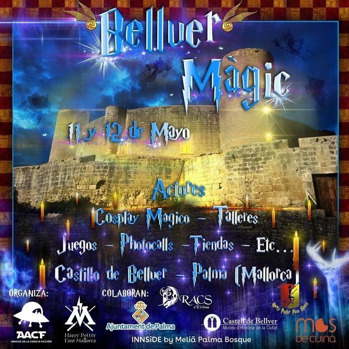 El festival 'Bellver Màgic' se inspira en Palma en el mundo mágico de Harry Potter
