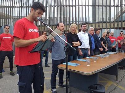 Los partidos de Palma, salvo PSOE y Vox, refrendan todas las reivindicaciones de los bomberos