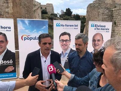 Marí Bosó ayudará 'con la mano tendida al gobierno municipal' de Ibiza