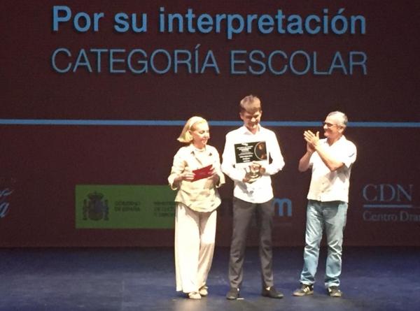 El mallorquín Guillem Galmés,mención especial del jurado de los Premios Buero de Teatro Joven de Coca-Cola
