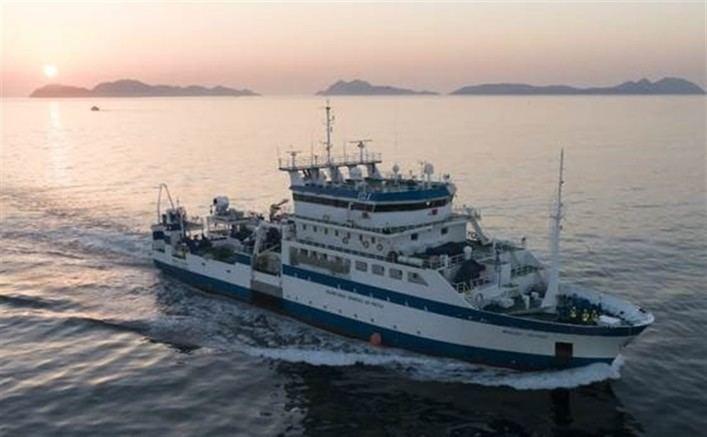 El buque Miguel Oliver inicia en Palma su campaña para estudiar el ecosistema mediterráneo