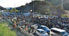 Los CDR bloquean la frontera con Francia en el paso de la Jonquera