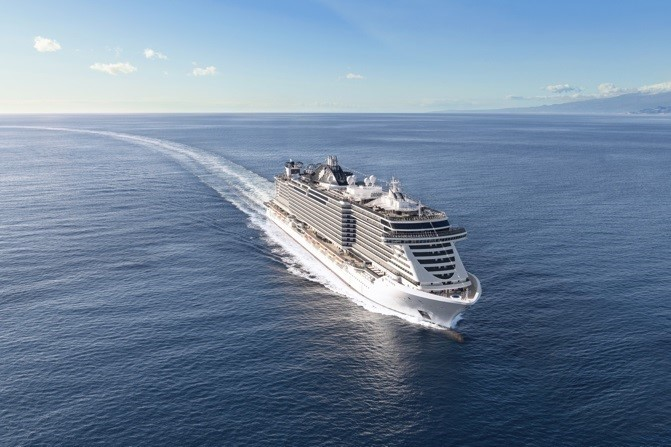 MSC Cruceros traerá este año a Palma 330.000 turistas