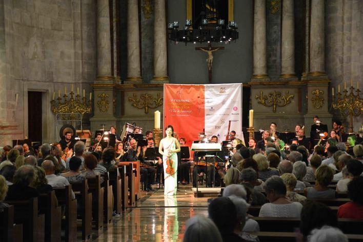 La violinista coreana Chee-Yun encandila a Santanyí