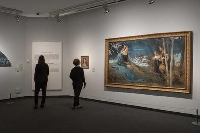 Caixaforum trae obras de Picasso, Joaquim Mir y Santigo Rusiñol en la exposición 'Azul. El color del Modernismo'