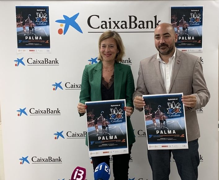 El circuito de baloncesto Plaza 3x3 CaixaBank 2019 llega a Palma