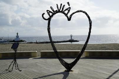 Ou Verd cede una escultura a Calvià para rendir homenaje a las víctimas de la pandemia