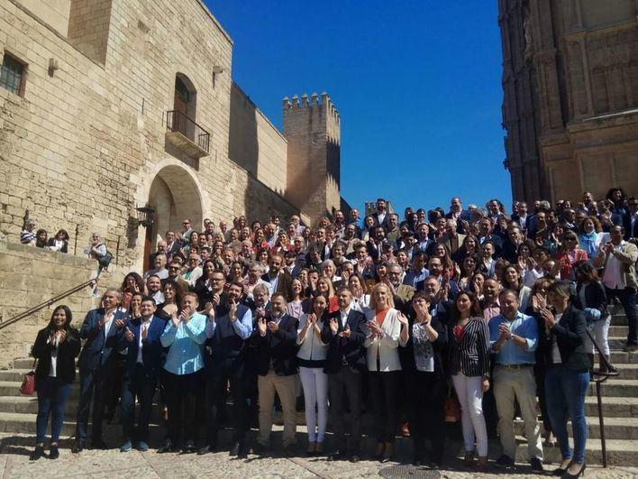 Ciudadanos (Cs) de Baleares presenta a sus candidatos para las elecciones del 26-M
