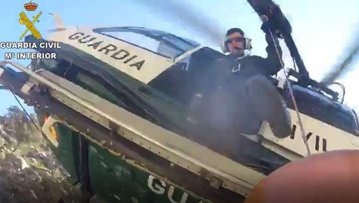 La Guardia Civil rescata a tres excursionistas en un solo día en Mallorca