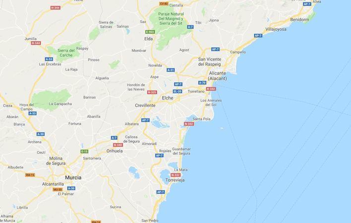 Un terremoto de magnitud 4 sacude Alicante y Murcia