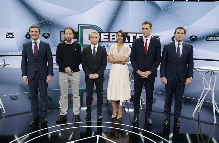 El debate de Atresmedia superó en audiencia al de RTVE