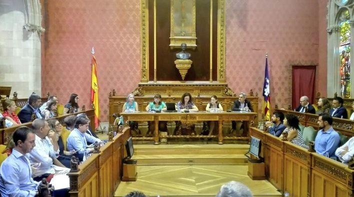Camiña (Cs) dice que la estructura del Consell 'responde más a un reparto de poder que a las necesidades' ciudadanas