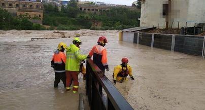 La gota fría en el Levante deja cinco muertos, 3.500 evacuados y 74 carreteras cortadas