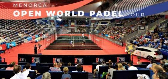 Menorca celebrará en octubre su primera edición como Open World Padel Tour