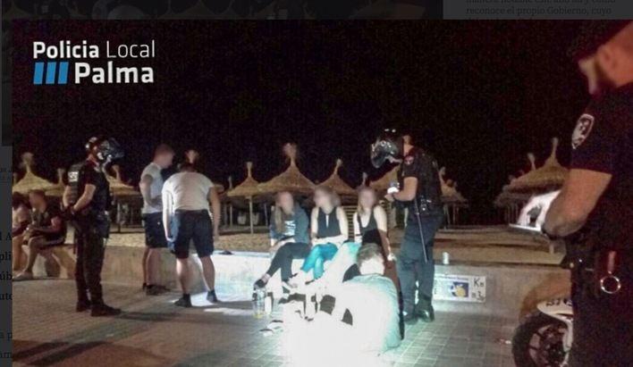 Cort impone casi 500 denuncias por incumplir la ordenanza de consumo de alcohol en zonas turísticas