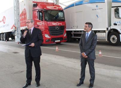 Armas Trasmediterránea colabora con Port de Barcelona en su nuevo servicio de escáner para contenedores