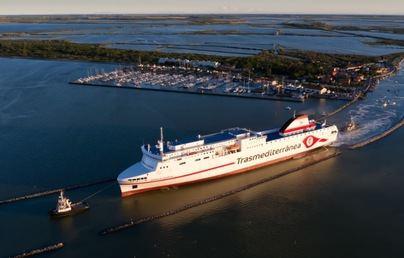 Armas Trasmediterránea estrenará el ferry Ciudad de Valencia en la línea Cádiz-Canarias
