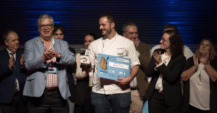 Catalina La Fina, ganador de TaPalma 2019, participará en el Campeonato de España de Pinchos y Tapas