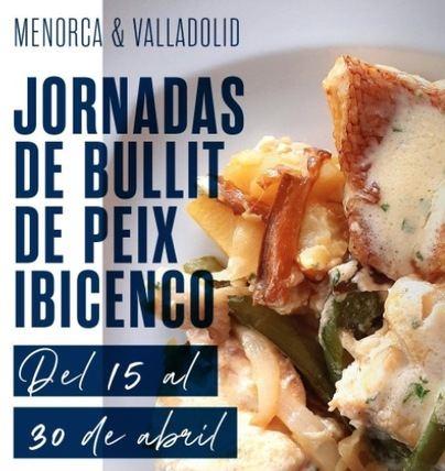 El bullit de peix ibicenco aterriza en Valladolid y Menorca de la mano del Grupo Moga