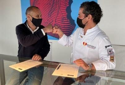 La Selección Española de Cocina de Competición al frente del 'Showcooking Area' de Palma Summit 21