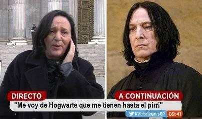 Carolina Bescansa deja Podemos para volver a Hogwarts