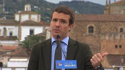 Casado dice que irá a los dos debates porque 'esto no es Venezuela'