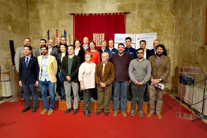 Movistar Team se suma a la fiesta de presentación de la Challenge Ciclista Mallorca