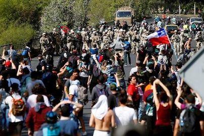 Las protestas en Chile contra la subida del metro deja un saldo de 13 muertos