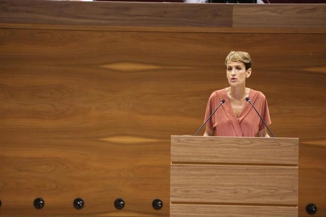 La socialista María Chivite se hace con la presidencia de Navarra tras la abstención de EH Bildu
