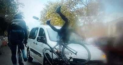 Detenida una conductora por atropellar a varios ciclistas en Palma y darse a la fuga
