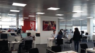 Coca-Cola estrena nueva ubicación para sus oficinas en Palma