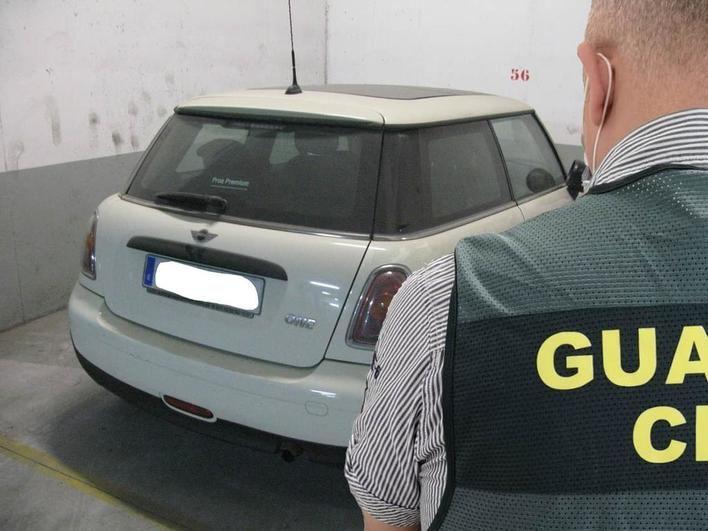Detenidos en Inca tres marroquíes con numerosos antecedentes por el robo de cuatro vehículos