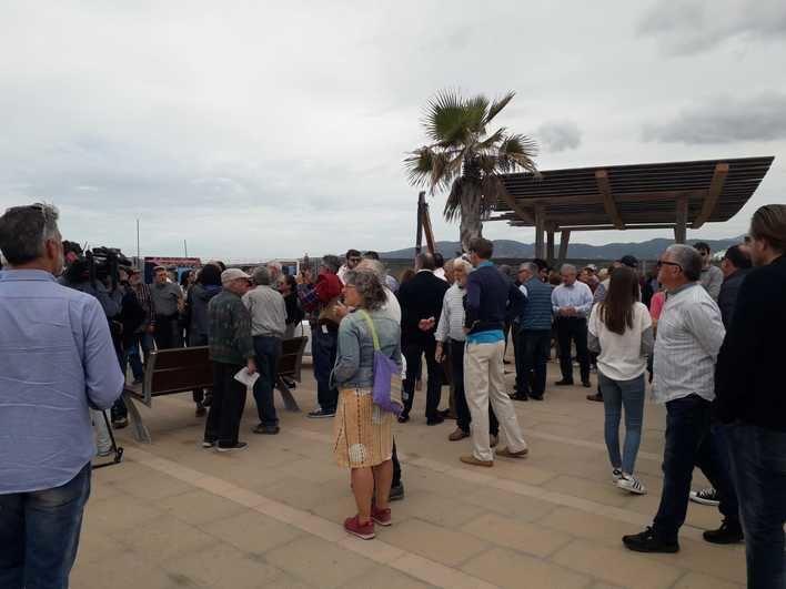 El Molinar exige que se paralicen las obras del Club Marítimo hasta alcanzar un consenso vecinal