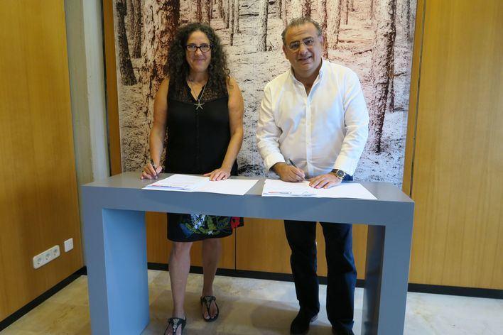 Calvià cede un solar a la Fundació Deixalles para acoger actividades sociales y medioambientales