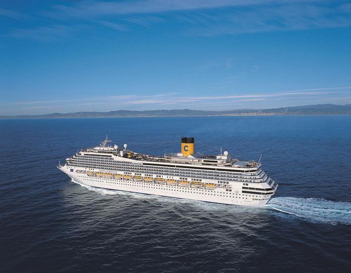 Costa suspende sus cruceros hasta el próximo 30 de abril por el coronavirus