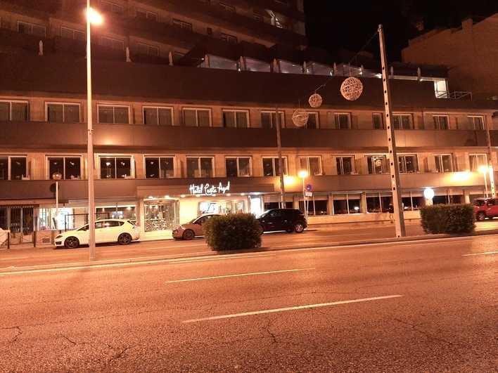 Un incendio en la lavandería de un hotel de Palma obliga a desalojar a los clientes