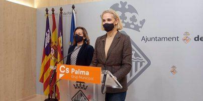 Cs Palma acusa a Cort de tratar a Son Gual como un barrio de