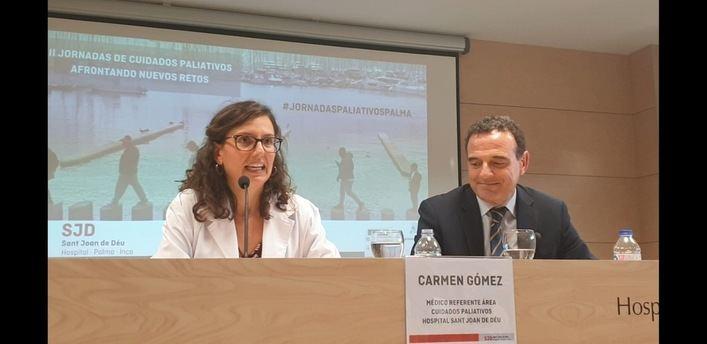 130 expertos participan en Palma en las III Jornadas de Cuidados Paliativos Hospital Sant Joan de Déu