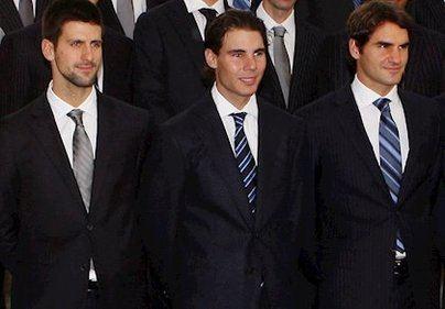 Djokovic, Nadal y Federer proponen un fondo de apoyo para tenistas