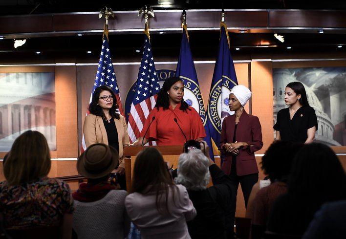 Cuatro congresistas demócratas se enfrentan a las acusaciones de Trump